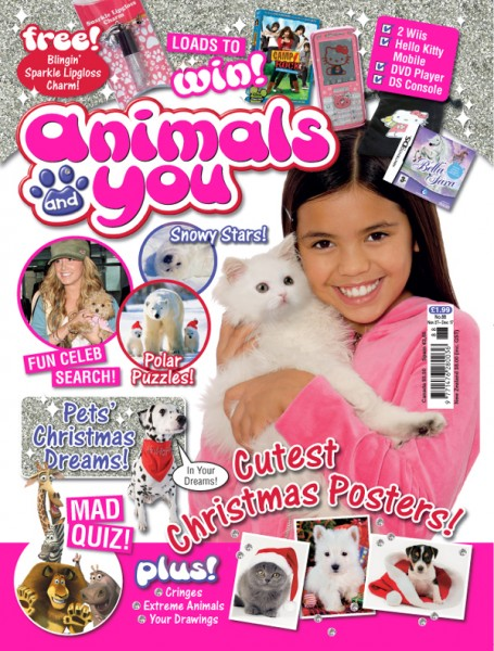 Meisha Kelly (Animals and You Magazine)