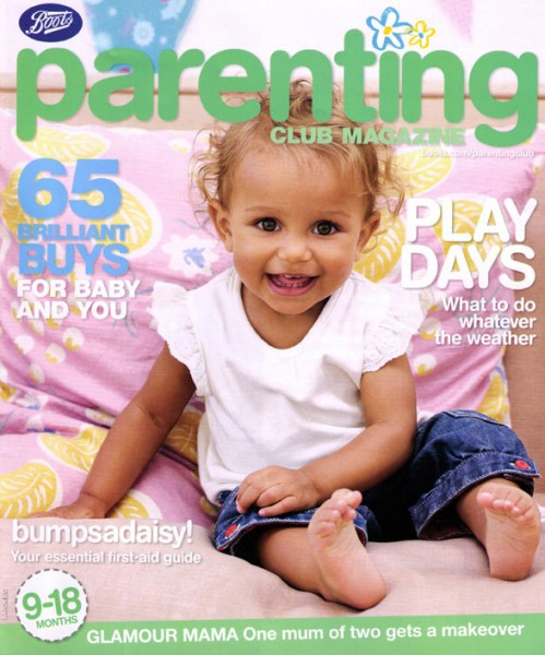 Mia Clarke (Boots Parenting Front Cover)