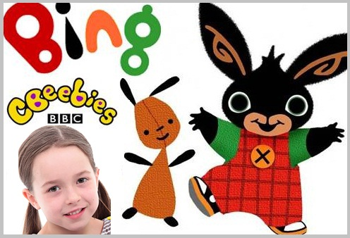 Jocelyn Macnab (Bing Bunny) Lead Role of Coco