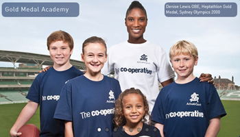 Mia Clarke - Activate Sport Campaign (With Denise Lewis)