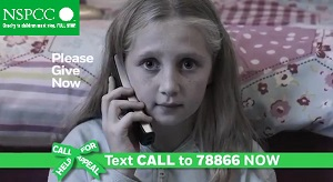 Lara Smith ' NSPCC Commercial ' December 2014 AK