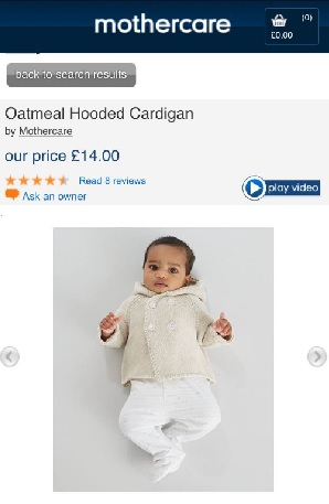 Adiyan - Mothercare April 2015