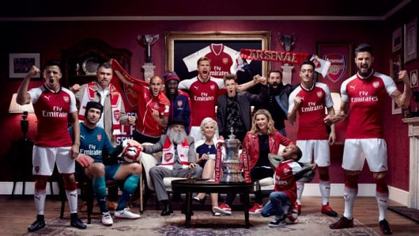 Taye - Puma X Arsenal Kit 2017