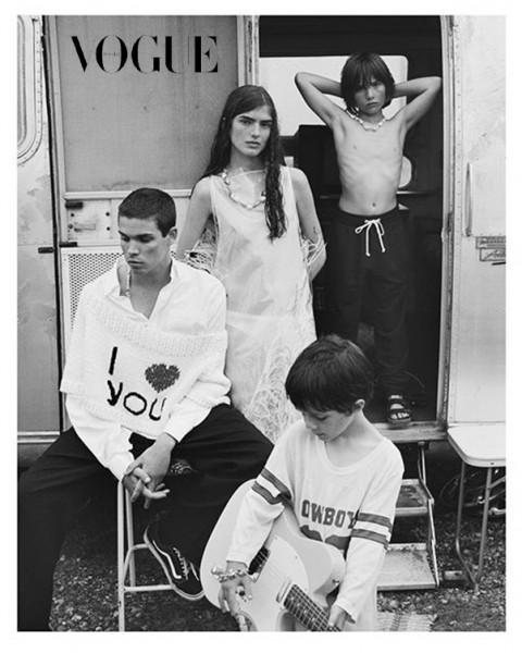 Tom Mulheron - Vogue Russia