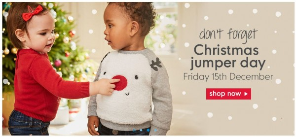 John For Mothercare Christmas Line 2017