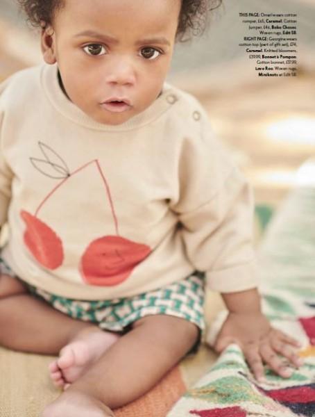 Omari Alexander-Moore Baby London Magazine April 2019