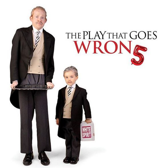 Richard Martin-Jones - The Play That Goes Wrong - Sep 2019