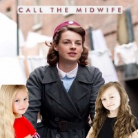 Trixiebelle Harrowell and Kitty Stafford (Call The Midwife - BBC) 2012 AK