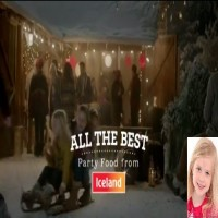 Florence Bailey Iceland Christmas Commercial 2013