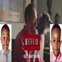 Vaqcasei Paul-Soleyn and Khamarle Paul-Soleyn Netflix Commercial 2014