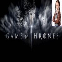 Trixiebelle Harrowell ' Game of Thrones ' August 2014 AK
