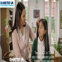 Arisha Choudhury ' Diabetes Uk TV Campaign ' November 2014 AK