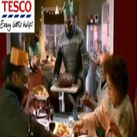 Eve De Leon Allen ' Tesco's Commercial ' December 2014 AK