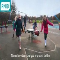 Lara Smith ' RNIB commercial ' AK