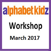 Alphabet Kidz - April 2017 - Workshop