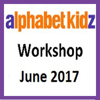 Alphabet Kidz - June 2017 - Workshop