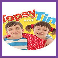 Jocelyn Macnab is Topsy in Topsy & Tim